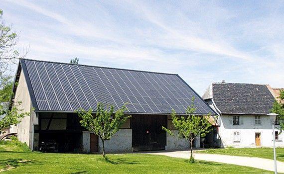 centrale solaire photovoltaïque Energies Partagees en Alsace