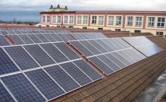 centrale solaire photovoltaïque Zusamme solar colmar